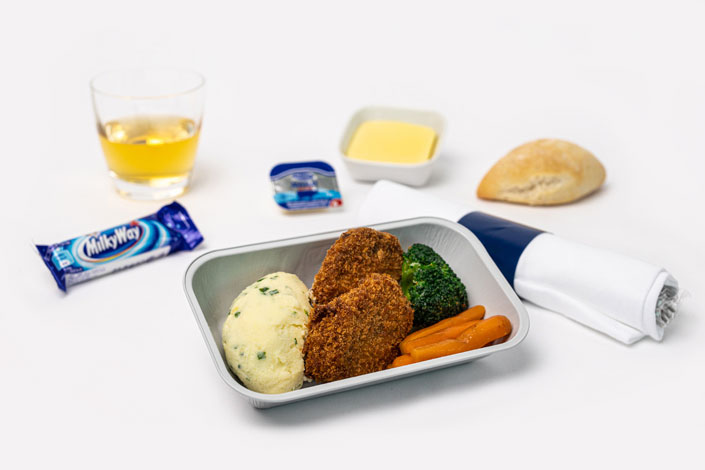 Gourmet Menu - Child Meal Hot served aboard Czech Airlines flights
