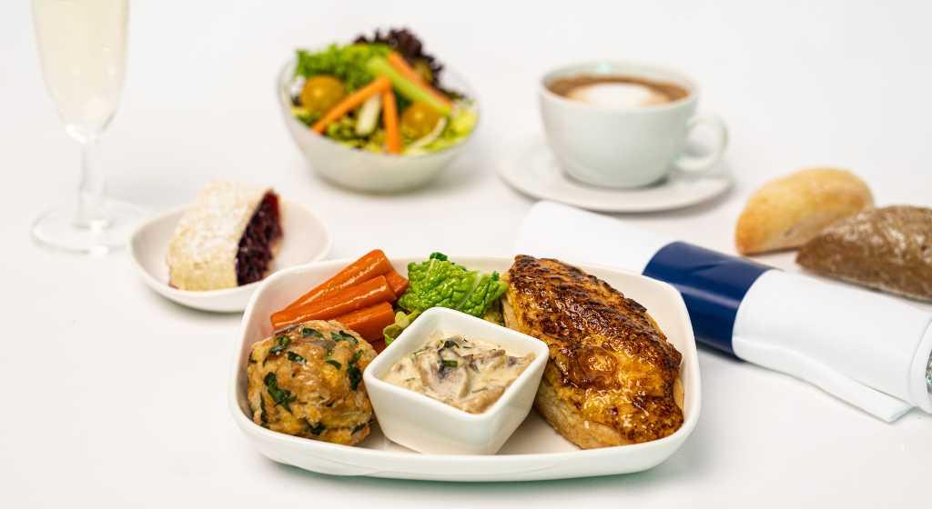 Czech Airlines Gourmet menu