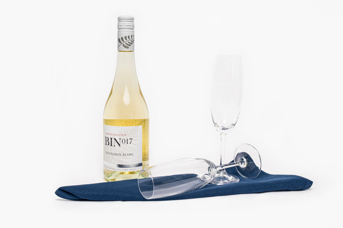 Gourmet Menu - Premium White Wine served aboard Czech Airlines flights