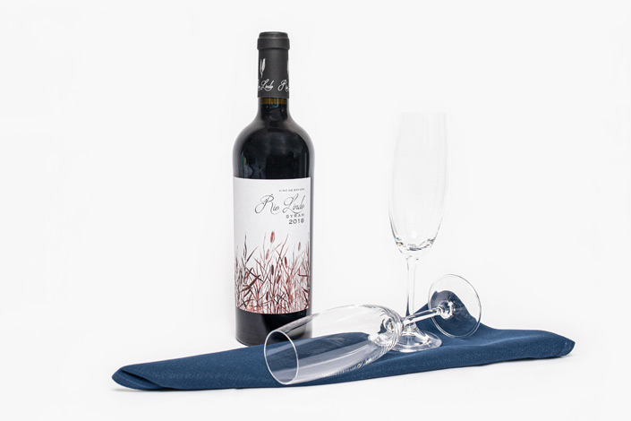 Gourmet Menu - Premium Red Wine served aboard Czech Airlines flights